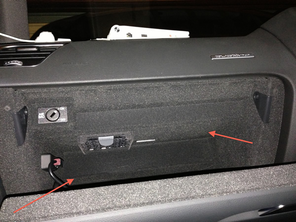 Audi a4 glove compartment - All Pictures top