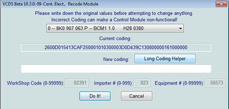 Audi Coding
